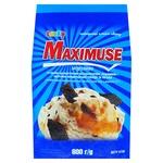 Морозиво Laska MAXIMUSE Карамель з крихтами кондитерської глазурі та печива 600г
