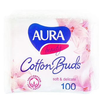Aura Cotton Sticks 100pcs