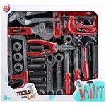Набор игрушечных инструментов One two fun 23шт