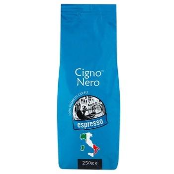 Кофе молотый Cigno Nero Espresso 250г - купить, цены на Фуршет - фото 1