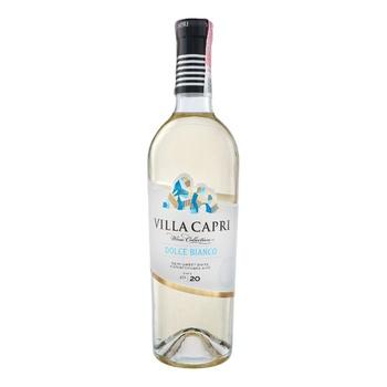 Villa Capri Dolce Bianc White Semisweet Wine 0,75l - buy, prices for CityMarket - photo 1