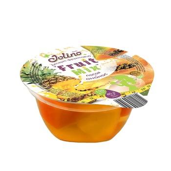 Десерт фруктовый Джолино папайя-ананас 150г