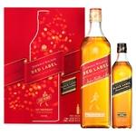 Віскі Johnnie Walker Red Label 40% 0.7л + Johnnie Walker Red Label 40% 0.7л картонна упаковка - купити, ціни на Ашан - фото 1