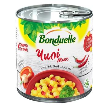 Овощная смесь Bonduelle Чилі Мікс з/б 310г