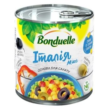 Bonduelle Italian Mix Vegetable Mix е/с 425ml - buy, prices for CityMarket - photo 1