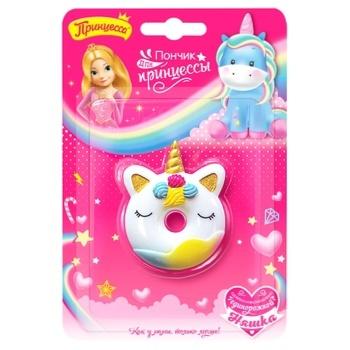 Набір дитячої косметика Принцеса 80506750 Пончик для принцеси блиск