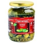 Chygyryn Marinated 7-9cm Cucumbers 670g