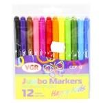 Набор фломастеров VGR Happy Kids 12 цветов