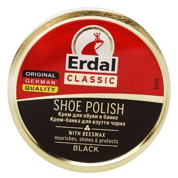 Крем для взуття Erdal чорний 75мл - купити, ціни на МегаМаркет - фото 1