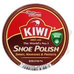 Крем для взуття Kiwi в банці коричневий 50мл