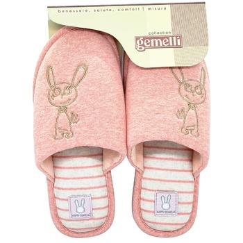 Взуття домашнє Gemelli Зайка 1 жіноче - купити, ціни на Таврія В - фото 1