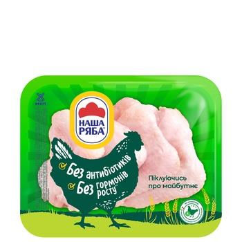 Крыло Наша Ряба цыпленка-бройлера охлажденное упаковка РЕТ ~ 500-650г