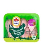 Nasha Ryaba without skin chilled broiler-chicken shins (packing ~ 1kg)