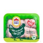 Мясо бедра Наша Ряба цыпленка-бройлера охлажденное (упаковка РЕТ ~1,1 кг)