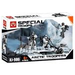 Конструктор X-Block Arctic Troopers