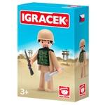 Набор игровой Igracek Солдат с аксессуарами
