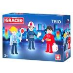 Набір ігровий Igracek Рятувальник, пожежний та поліцейський
