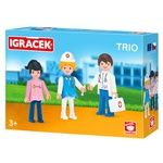 Набор игровой Igracek Врач, медсестра и пациент