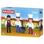 Igracek Waiter, Chef and Cook Officer Play Set