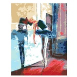 Rosa Start Ballerina Painting by Numbers