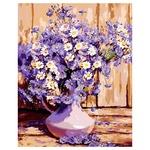 Картина по номерам Идейка Букет полевых цветов 40х50см