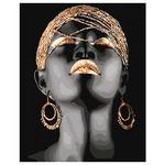 Картина по номерам Идейка Африканская принцесса 40х50см