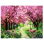Rosa Start Cherry Orchard Picture By Numbers Creativity Set 35х45cm
