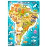 DoDo South America Puzzle with Frame
