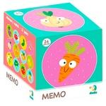 Игра настольная Dodo Мемо-игра Фрукты и овощи