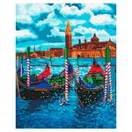 Ideyka Venetian Taxi Painting By Numbers 40х50cm