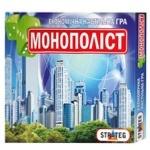 Игра настольная Strateg Монополист укр/рус