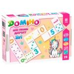 Zirka Dominoes for Cute Girls 2in1 Table Game