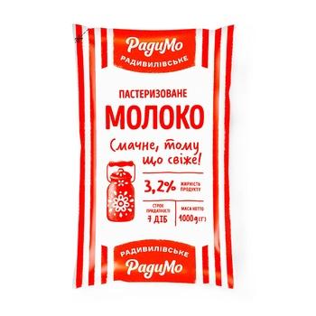 Radymo Pasteurized Milk 3.2% 1000g