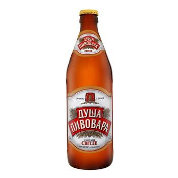 Dusha Pyvovara light beer 4,2% 0,5l