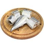 Fish atlantic mackerel pieces