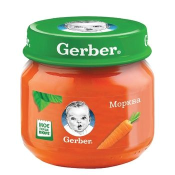 Gerber carrot puree 80g - buy, prices for CityMarket - photo 1
