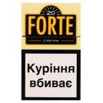 Цигарки Forte Crema - купить, цены на ЕКО Маркет - фото 1