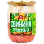 Свинина ТМК Туристская консервированная 500г