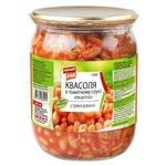 Фасоль Первый Ряд в томатном соусе 540г