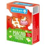 Масло Milken Селянське сладкосливочное 83% 200г