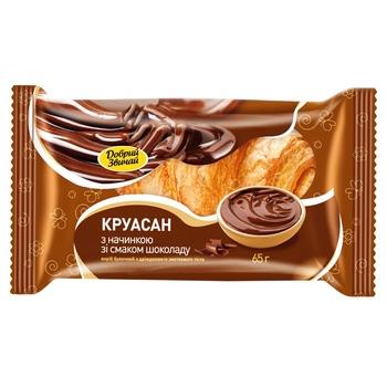 Круассан Добрий Звичай шоколад 65г - купить, цены на ЕКО Маркет - фото 1
