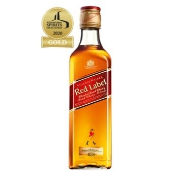 Johnnie Walker Red Label Whisky 40% 0,5l+ glass - buy, prices for Furshet - image 2