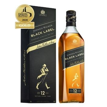 Johnnie Walker Black label 12 yrs whisky 40% 0.7l - buy, prices for Furshet - image 2
