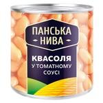 Квасоля Панська Нива в томатному соусі 440г