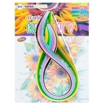 Бумага для квиллинга Колорит Тон №8 Цветок 6цветов 5х420мм 120полос