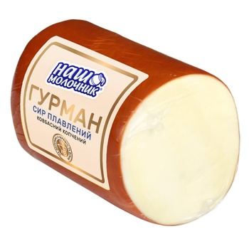 Nash Molochnyk Gourmet Smoked Sausage Processed Cheese - buy, prices for EKO Market - photo 1