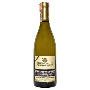 Teliani Valley Alazani Valley White Semisweet Wine 12% 0.75l - buy, prices for CityMarket - photo 1