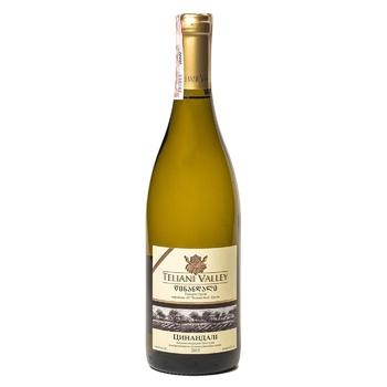 Вино Teliani Valley Цинандалі біле сухе 13% 0.75л - купити, ціни на CітіМаркет - фото 1
