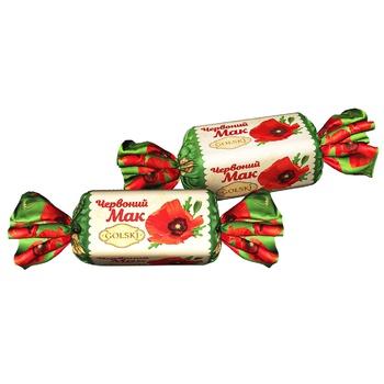 Конфеты Golski Красный Мак - купить, цены на ЕКО Маркет - фото 1