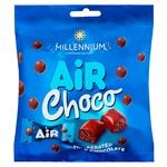 Цукерки Millennium Air молочний шоколад 50г